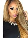 レミーヘア人毛 フルレース フロントレース かつら アシメントリー・ヘアカット スタイル ブラジリアンヘア ストレート ナチュラルストレート ブロンド かつら 130% 150% 180% 毛の密度 ベビーヘアで ソフト 女性 最高品質 ホット販売 ブロンド 女性用 ロング 人毛レースウィッグ PERFE / ナチュラルヘアライン / ナチュラルヘアライン