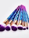 7 adet Makyaj fırçaları Profesyonel Allık Fırçası / Far Fırçası / Dudak Fırçası Naylon fiber Tam Kaplama