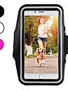 غطاء من أجل Apple iPhone XR / iPhone XS Max طوق الرياضة / ضد الصدمات / ضد الغبار عصابة يد لون سادة ناعم كربون فيبر إلى iPhone XS / iPhone XR / iPhone XS Max