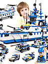 SHIBIAO Legolar Askeri bloklar 1230 pcs Denizle İlgili Askeri Warship Kendin-Yap Çağdaş Klasik Klasik & Zamansız Bot Uçak Gemisi Genç Erkek Genç Kız Oyuncaklar Hediye