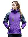 Women\'s Hiking 3-in-1 Jackets Ski Jacket outdoor Spring Fall Winter Windproof Waterproof Breathable Thermal / Warm Quick Dry Ultraviolet Resistant Anti-Eradiation Softshell Jacket Full Length Visible