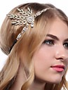 The Great Gatsby 1920s The Great Gatsby Roaring 20s Costume Women\'s Headpiece Flapper Headband Head Jewelry White / Black / Golden Vintage Cosplay