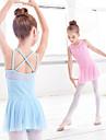 رقص الباليه الفساتين للفتيات التدريب / أداء Elastane / ليكرا متصالب / مفصل منفصل فستان