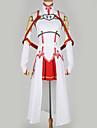 Inspirado por Alicization Asuna Yuuki Anime Disfraces de cosplay Trajes Cosplay Diseno Especial Top / Falda / Mas Accesorios Para Hombre / Mujer