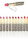 12 pcs 12 farver Dame / Beskyttelse / Læber Mat / Glans Multifunktionel Professionel / Høj kvalitet Makeup Kosmetiske Plejemidler
