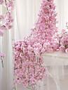 Kunstbloemen 1 Tak Wandgemonteerd Geschorst Feest Bruiloft Sakura mand met bloemen