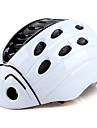 Kingbike Adolescent Casque de velo BMX Casque 21 Aeration Integralement moule ESP+PC Des sports Activites Exterieures Cyclisme / Velo Moto - Blanc Bleu Unisexe