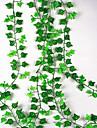 Kunstbloemen 1 Tak Wandgemonteerd Geschorst Bruiloft Pastoraal Stijl Planten Bloemen voor op de muur