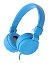 LITBest Kopfhoerer und Headset Mit Kabel Kopfhoerer Kopfhoerer Aluminium Legierung / Kalbshaut Reise Kopfhoerer Bequem Headset