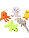 kauwspeeltjes Gebitsreinigend speeltje Dieren tekstiili Katoen Voor Honden Katten