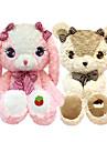 Rabbit Urso Urso Teddy Animais de Pelucia Animais Fofo Algodao / Poliester Todos Brinquedos Dom 1 pcs