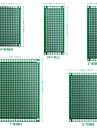 12 stk. Dobbeltsidet pcb bord prototype kit til diy lodning med 5 størrelser kompatible med arduino kits
