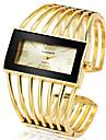 Γυναικεία Βραχιόλι Ρολόι χρυσό ρολόι Χαλαζίας Ασημί / Χρυσό / Χρυσό Τριανταφυλλί Καθημερινό Ρολόι Απίθανο Μεγάλο καντράν Αναλογικό Μοντέρνα Κομψό - / Ενας χρόνος / Ανοξείδωτο Ατσάλι / Ενας χρόνος