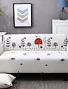 Sofabezug Romantisch Garngefaerbt Polyester / Baumwoll Mischung UEberzuege