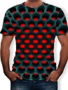 Cosplay Cosplay T-skjorte Terylene 3D Til Herre