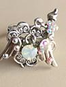 女性用 指輪 ハート ステートメント ファッション ファッションリング ジュエリー シルバー 用途 カジュアル 日常 調整可