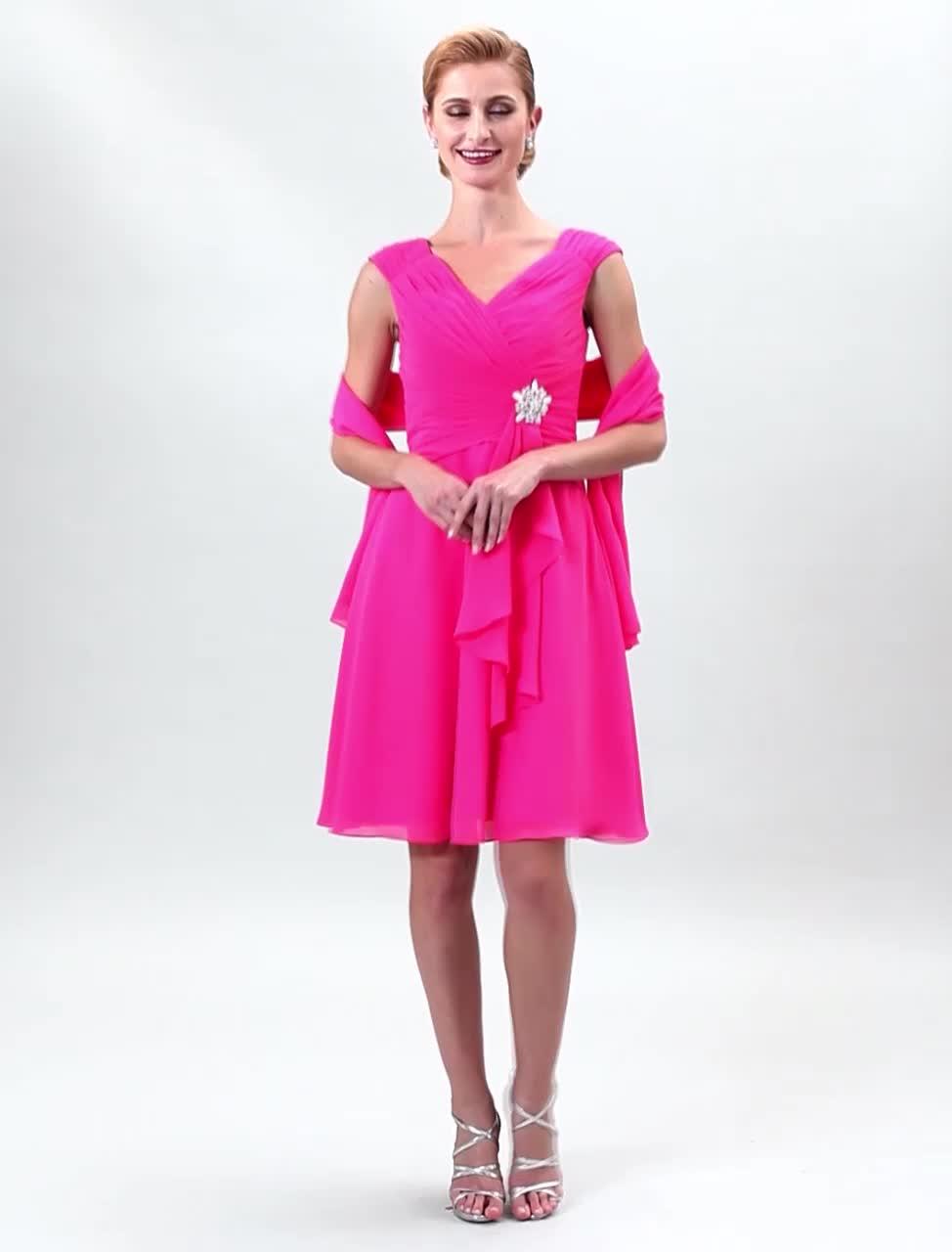 Asombroso Broches Para Vestidos De Dama Embellecimiento - Colección ...