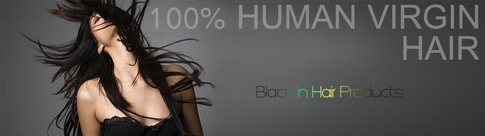 zwart in haar