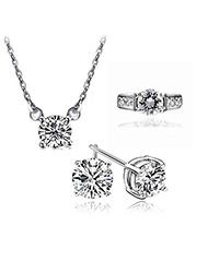 Parure Bijoux Diamant