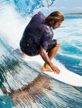 Surfing, dykning och snorkli...