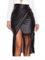 חצאיות עור סינטטי